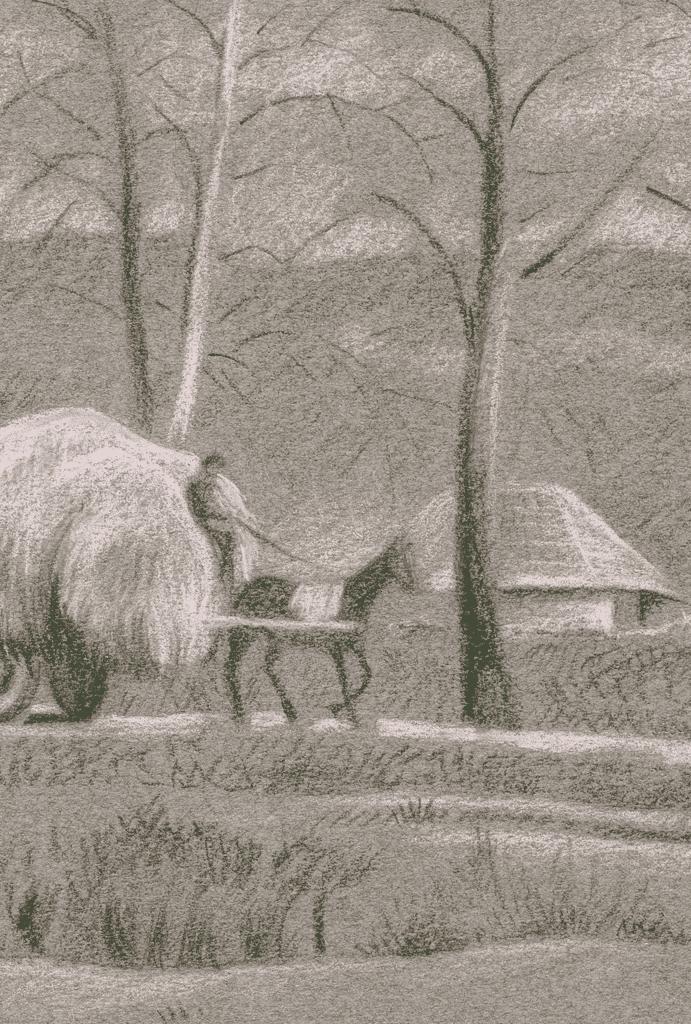 """The Hay Wagon"""