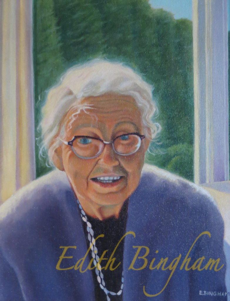 """""""Ruth Cohn"""", 16x20, oil on canvas"""
