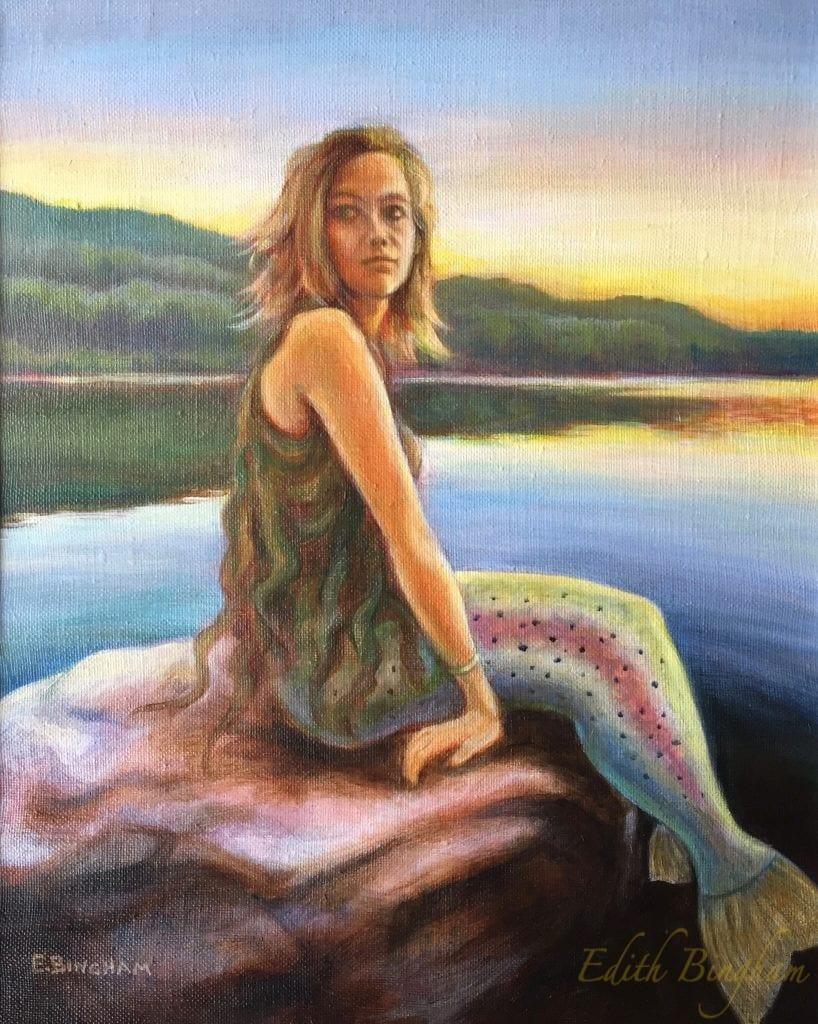 """The Mermaid of Pelham Lake"""